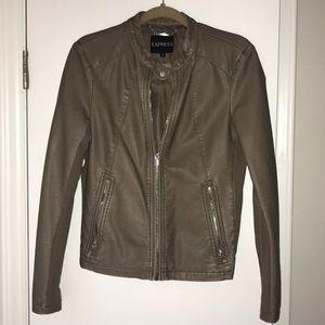 Dark tan express jacket - size medium